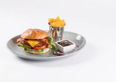 Broodje BBQ burger
