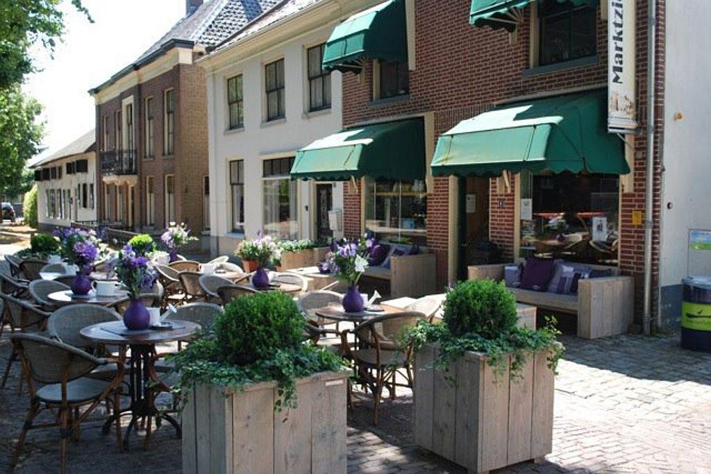 Terras Eetsalon Marktzicht in Beusichem