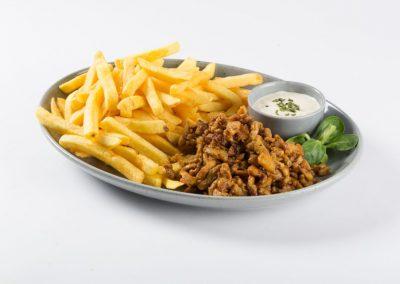 Friet kipkebab - Cafetaria Eetsalon Marktzicht in Beusichem
